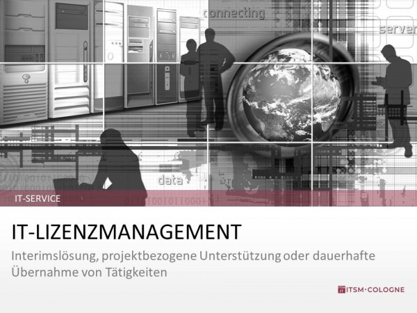 IT-Service IT-Lizenzmanagement