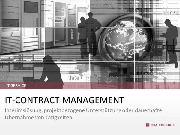 IT-Service IT-Contract Management